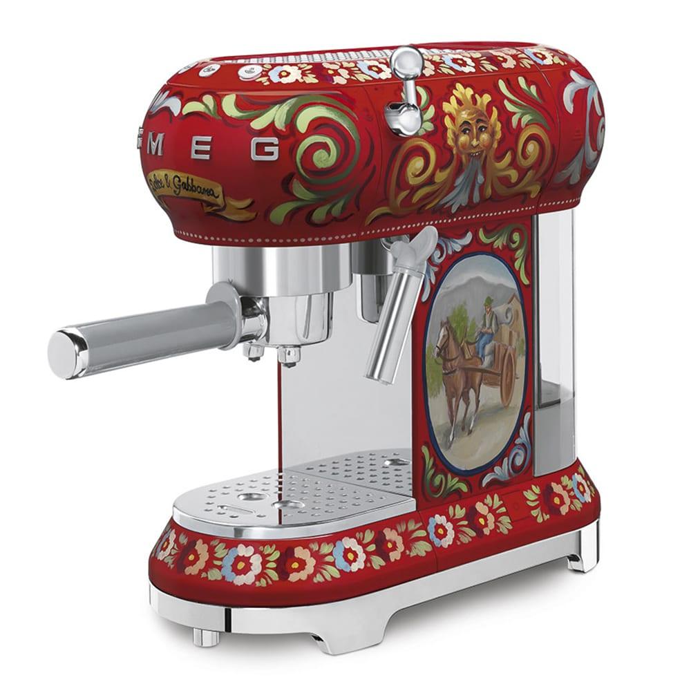 Espresso Coffee Machine Smeg ECF01DGEU Dolce Gabbana